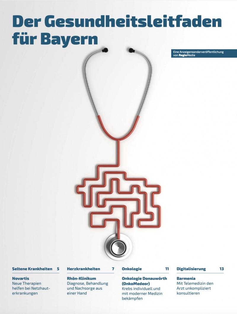 Cover Der Gesundheitsleitfaden für Bayern 2020
